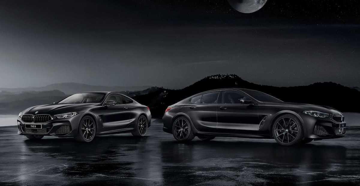 BMW Serii 8 Gran Coupe Frozen Black Edition