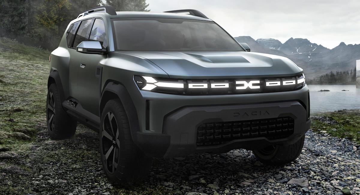 2022 Dacia Bigster Concept