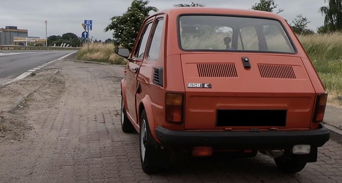1988 Fiat 126p 650E