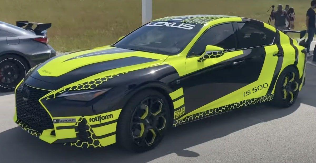 Lexus IS500 F-Sport 2022