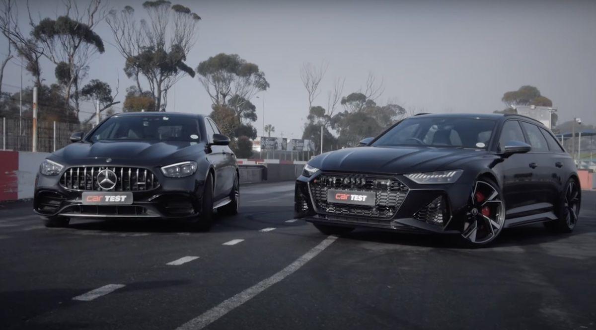 Mercedes-AMG E63 S 4MATIC+ vs Audi RS6 Avant