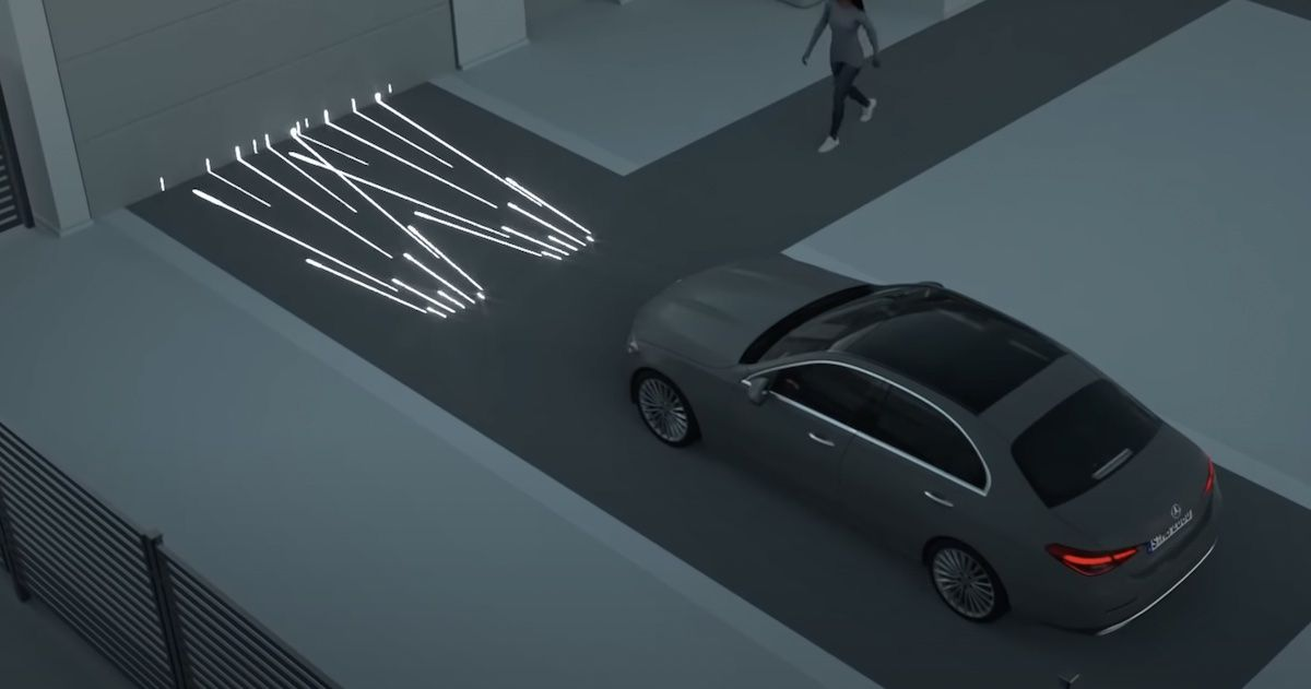 Mercedes-Benz Klasy C digital light