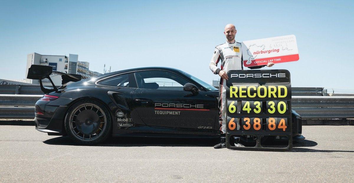 Porsche 911 GT2 RS 991.2 Manthey Racing