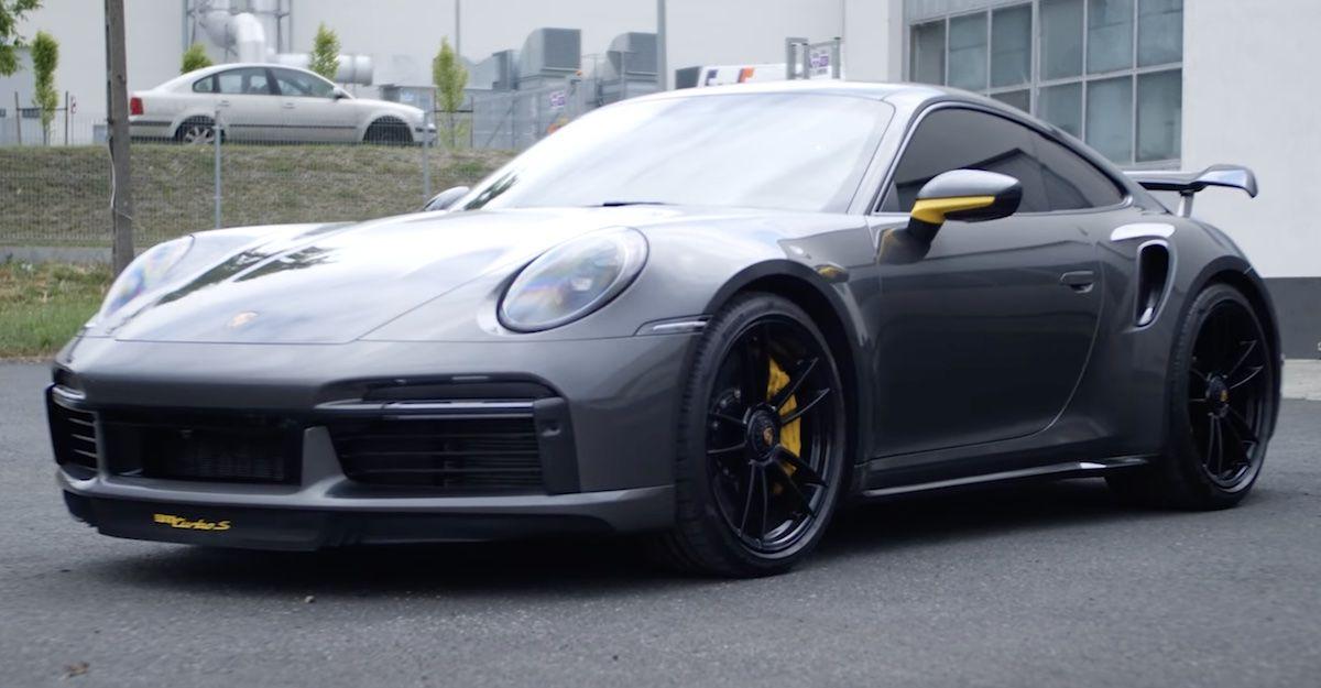 Porsche 911 Turbo S Pachura Moto Center