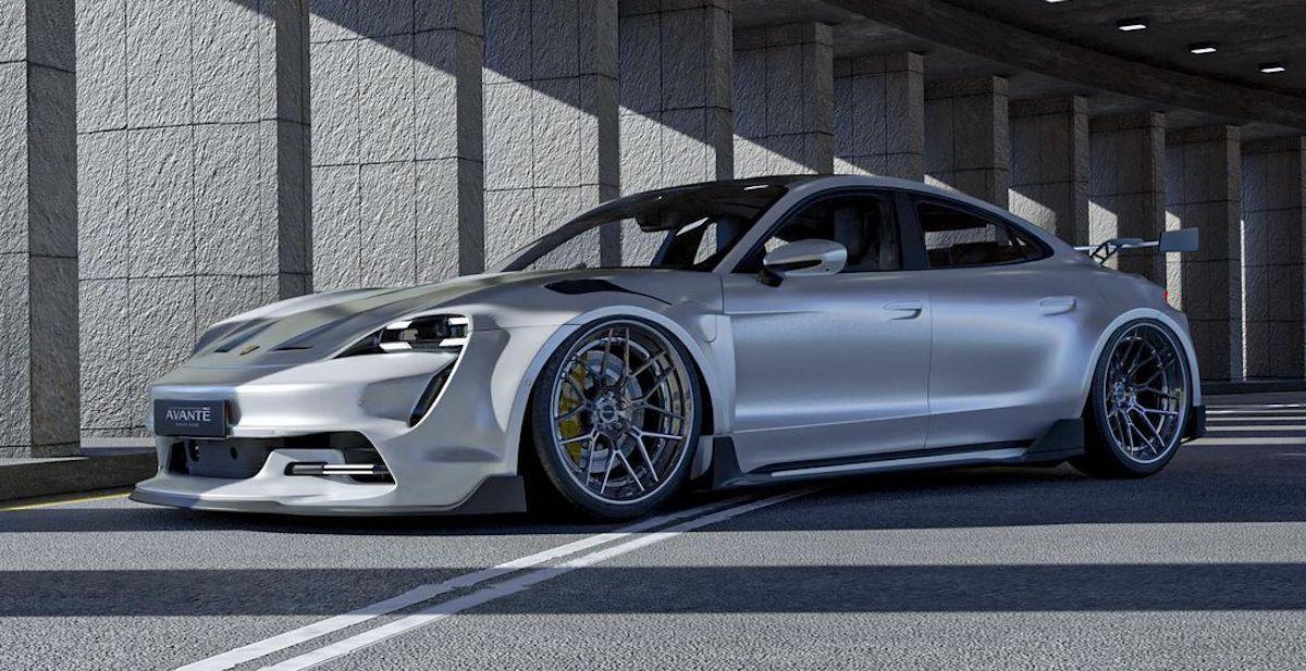 Porsche Taycan Turbo S Avante Design