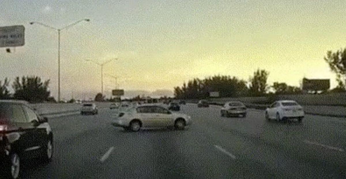 autostrada poślizg