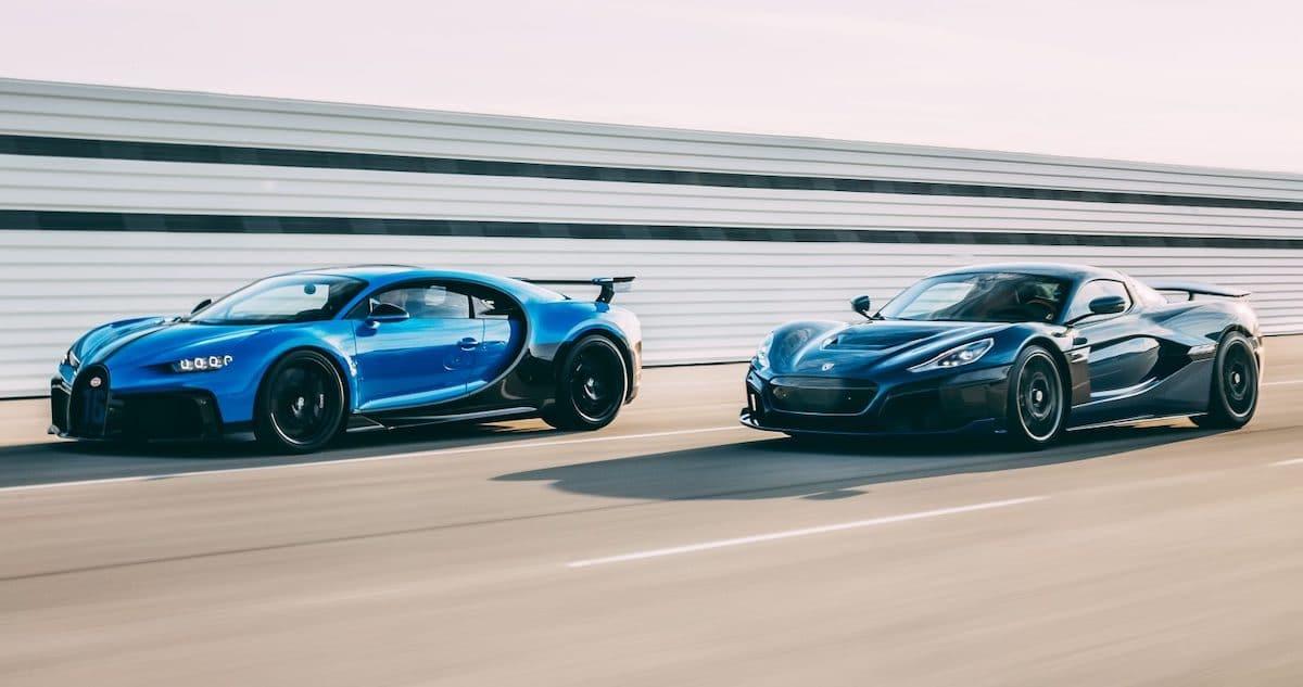 Bugatti Chiron Rimac Nevera