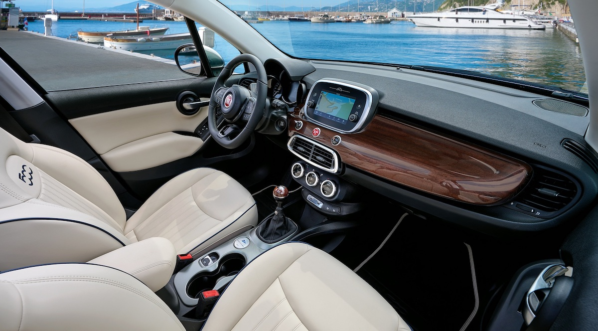 2022 Fiat 500X Yachting Edition