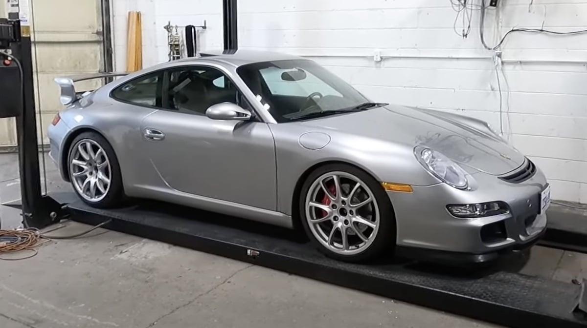 Porsche 911 997 honda