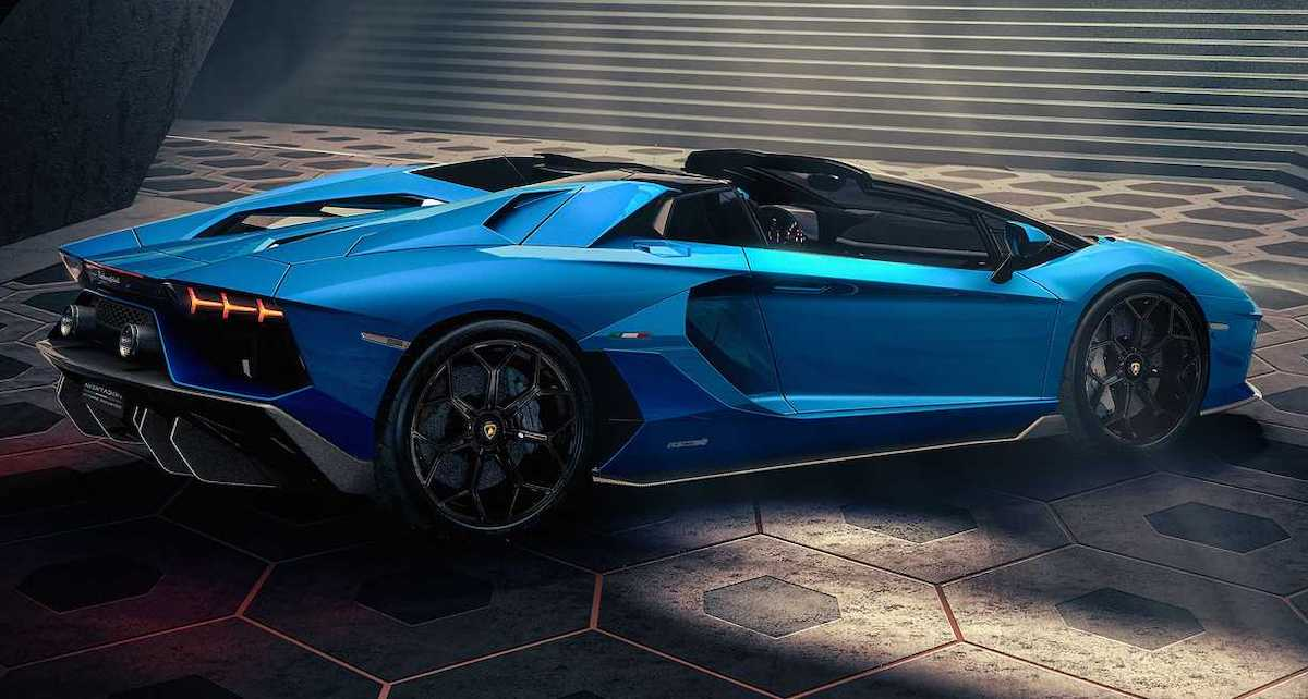 2021 Lamborghini Aventador LP780-4 Ultimae Coupe