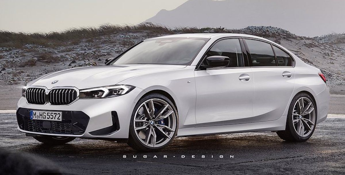 2022 BMW Serii 3 LCI