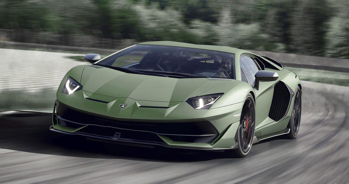2022 Lamborghini Aventador S jota