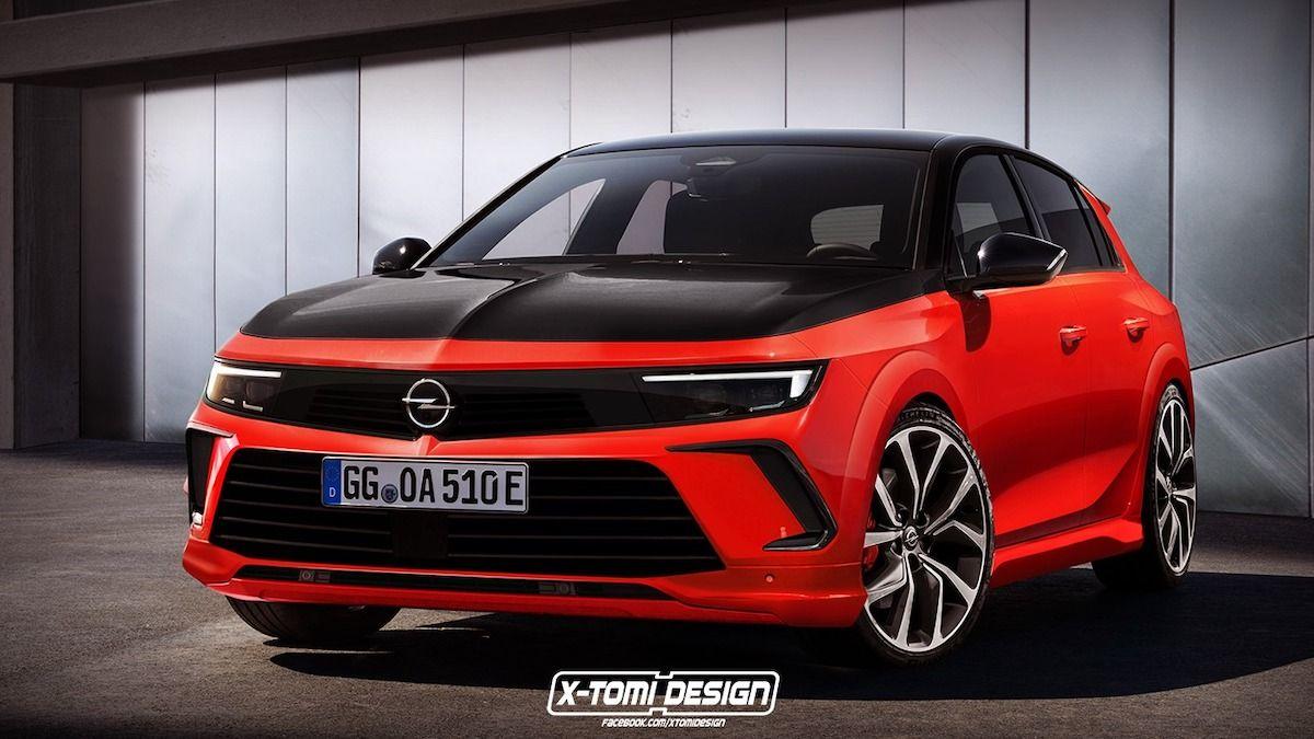 2022 Opel Astra GSi