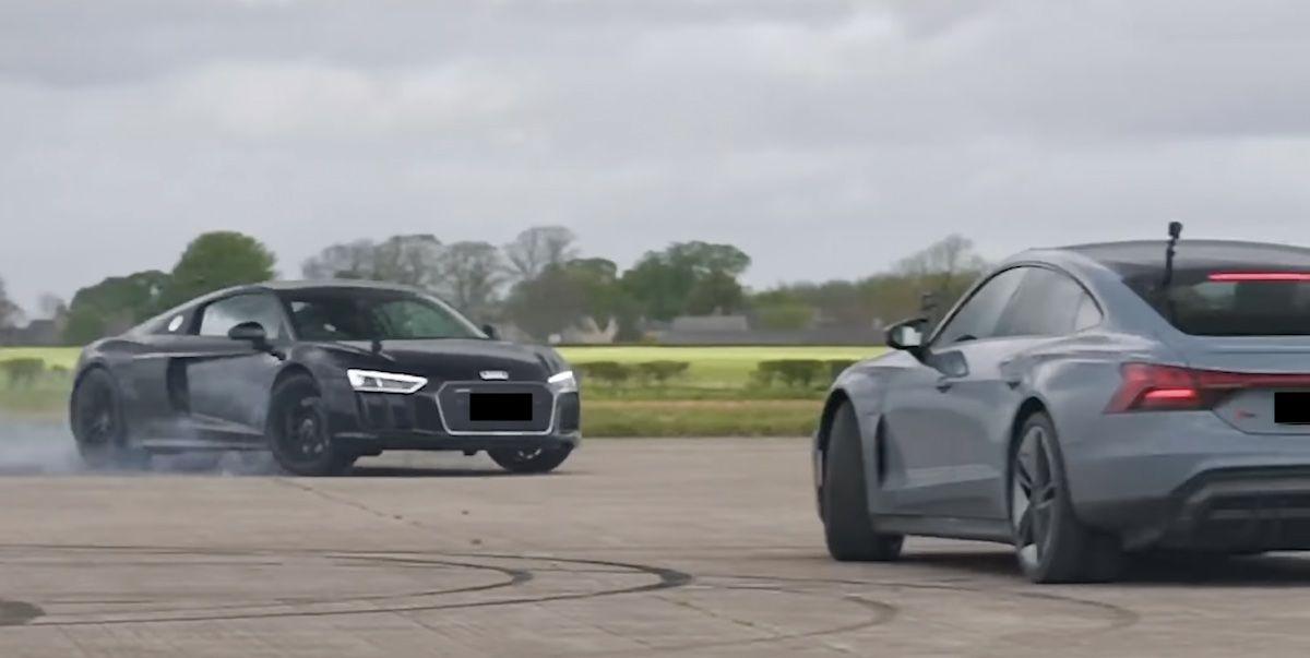 Audi R8 Performance Audi RS e-tron GT