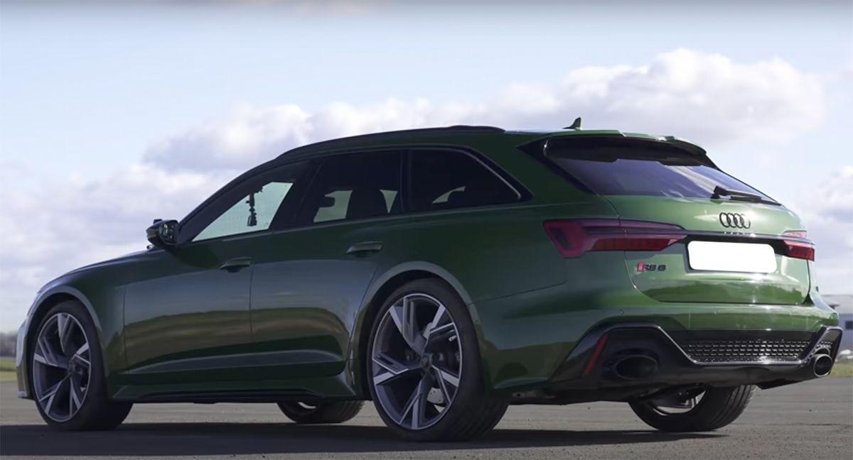 2021 Audi RS6 C8