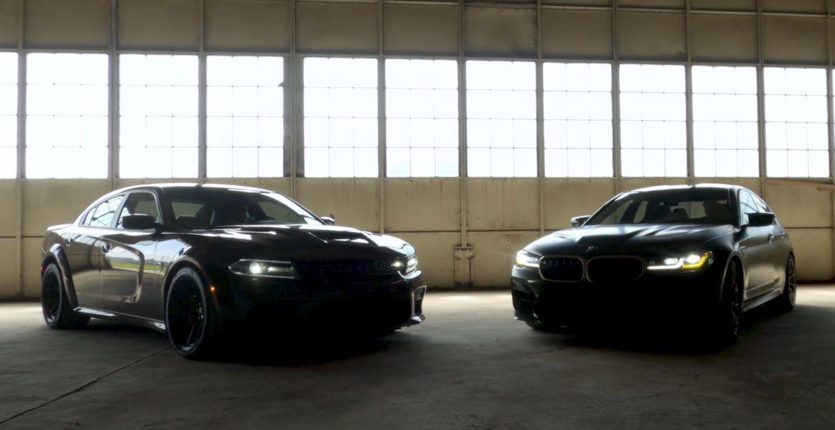 BMW M5 CS Dodge Charger Hellcat Redeye