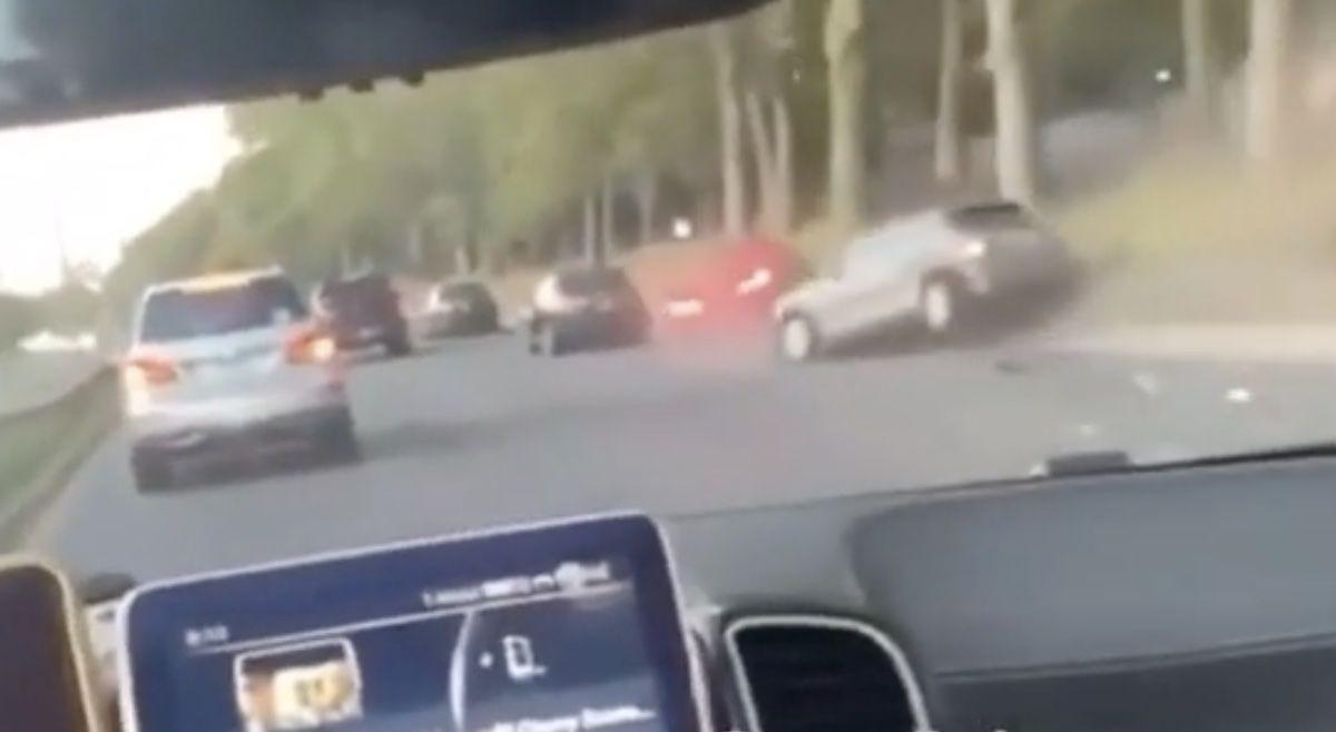 BMW Serii 5 MINI wypadek