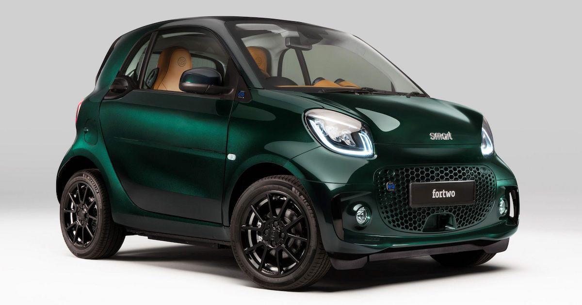 Brabus Smart Fortwo EQ Racing Green Edition