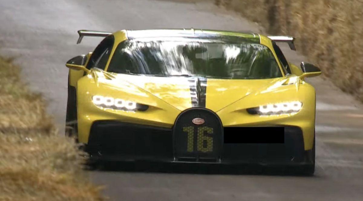 Bugatti Chiron Pur Sport Goodwood