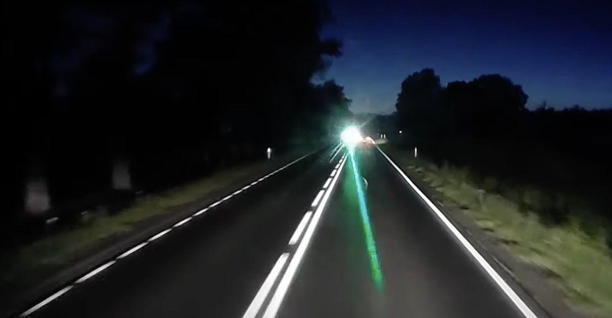 Ciężarówka laser