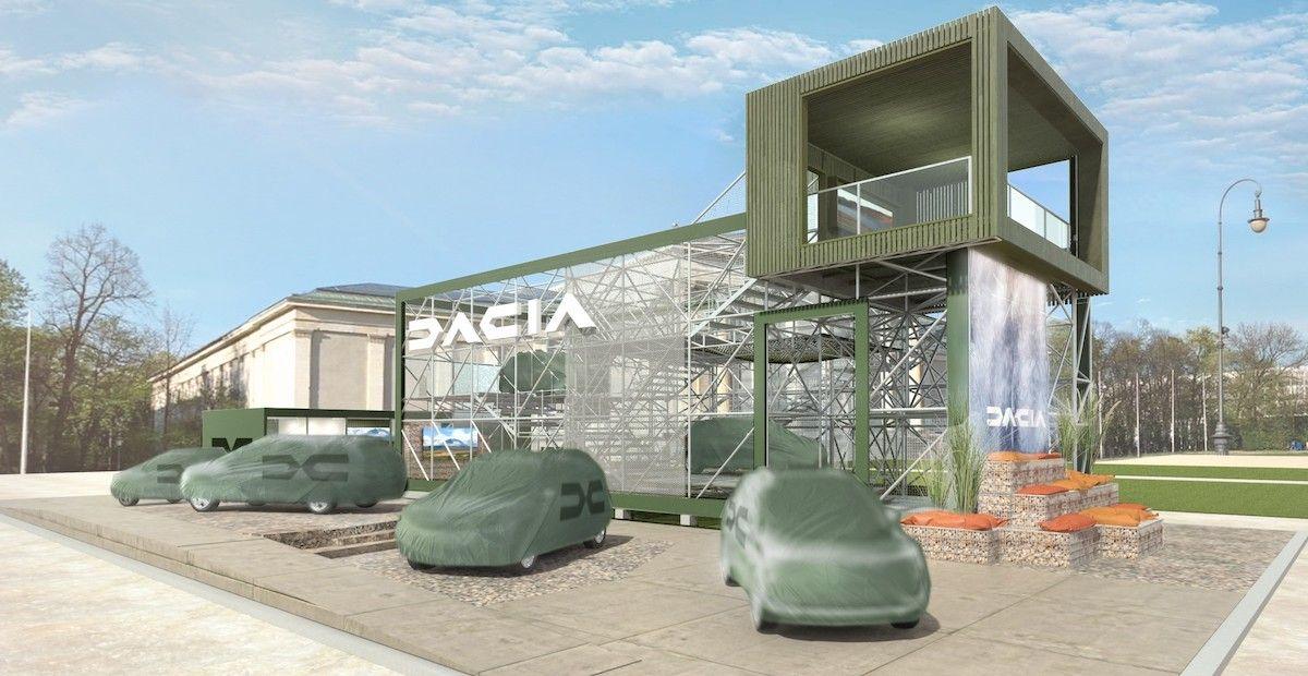 Dacia Zapowiedź Targów Monachium