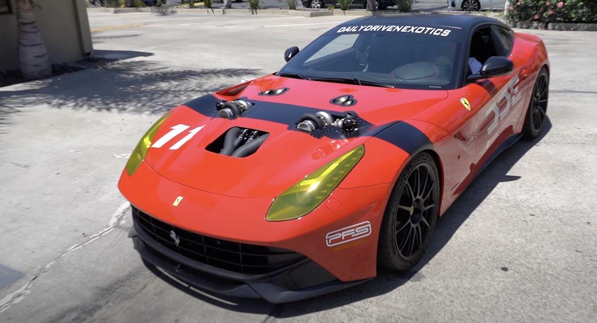 Ferrari F12berlinetta twin turbo