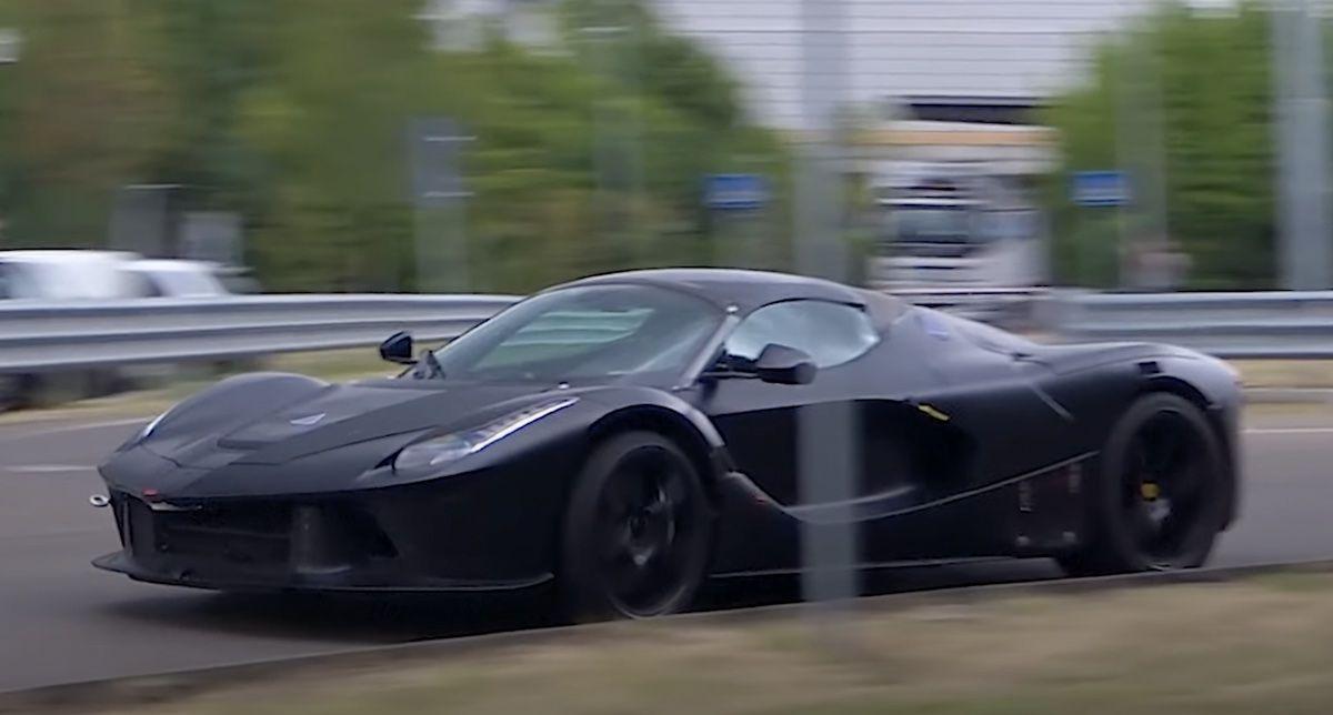 Ferrari LaFerrari muł testowy