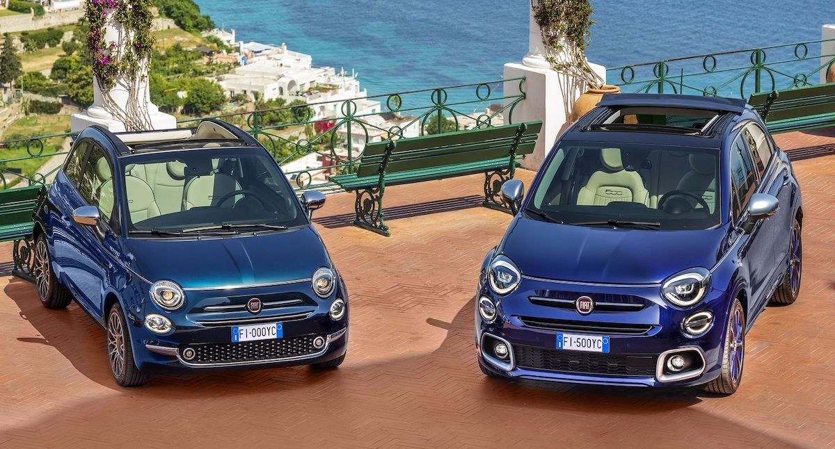 2022 Fiat 500 Yachting Edition