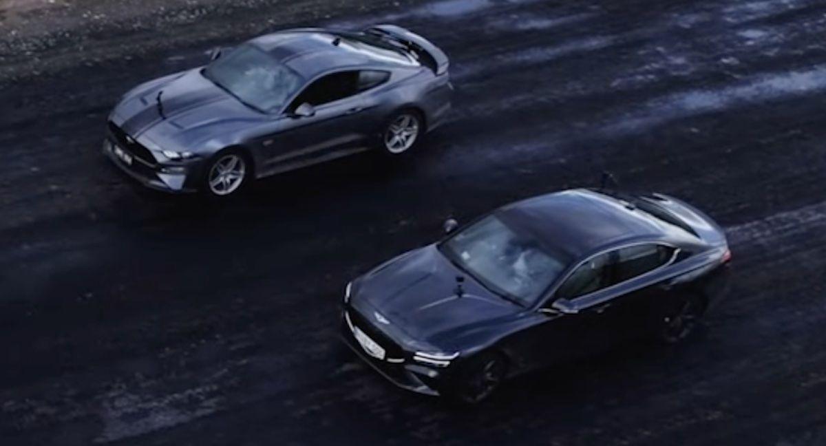 Ford Mustang GT Genesis G70