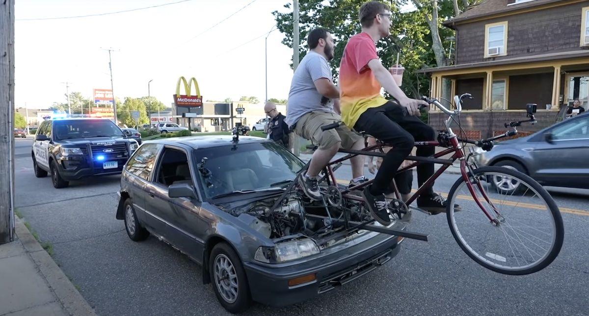 Honda Civic rower