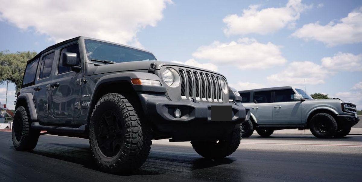 Jeep Wrangler Ford Bronco