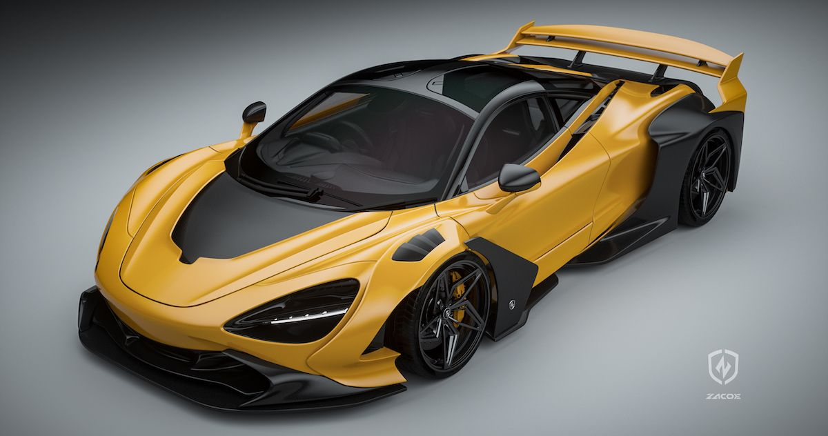 McLaren 720S Zacoe Galaxy Wide Body