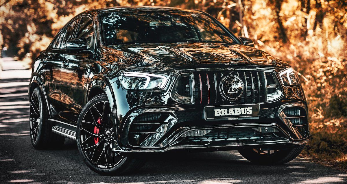 Mercedes-AMG GLE 63 S Coupe 4MATIC+ Brabus 800