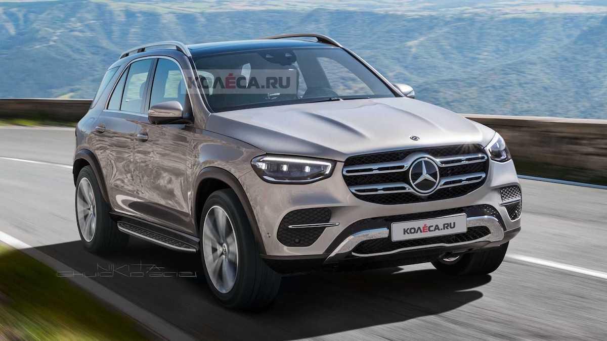 2022 Mercedes-Benz GLE facelifting