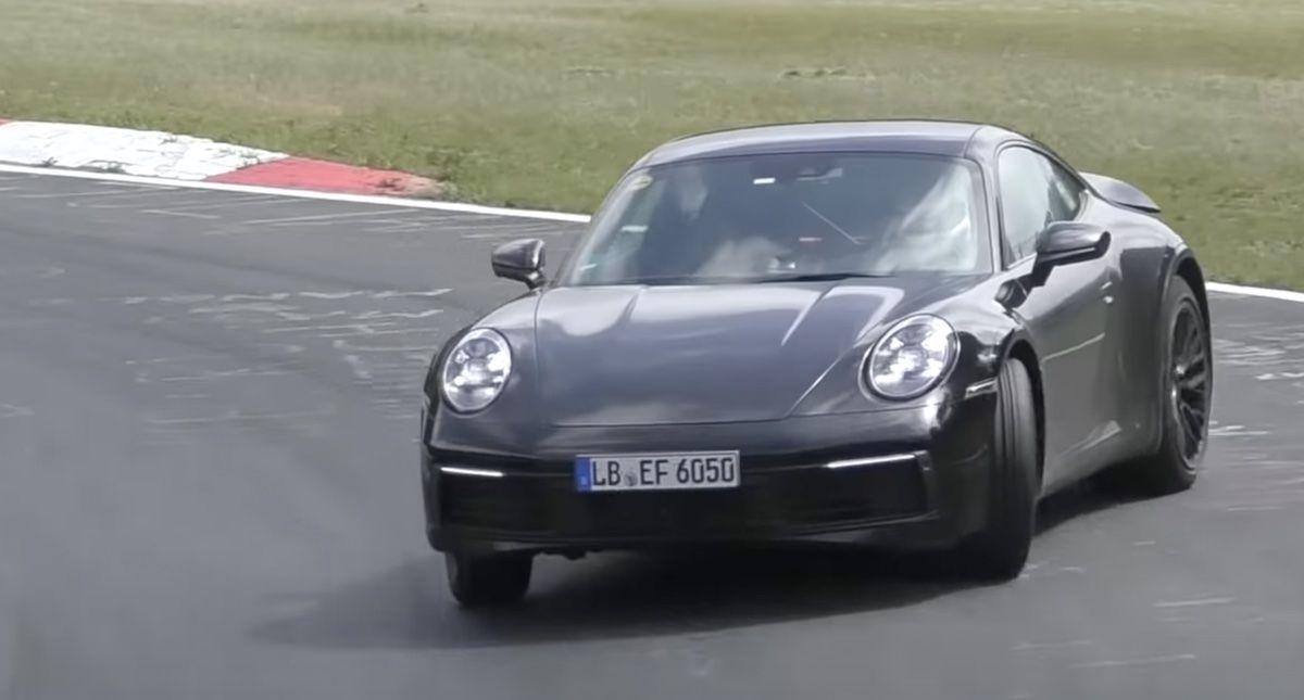 Porsche 911 992 Turbo S e-hybrid