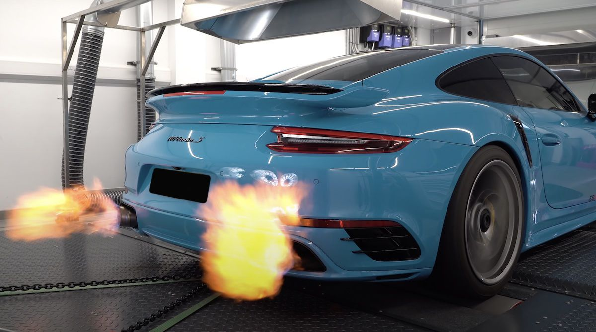 Porsche 911 Turbo S ES Motor