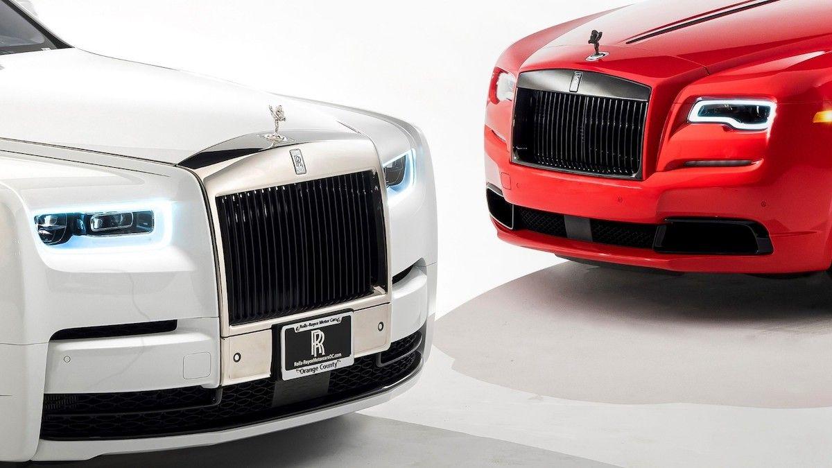 Rolls-Royce Phantom Tempus Dawn Black Badge