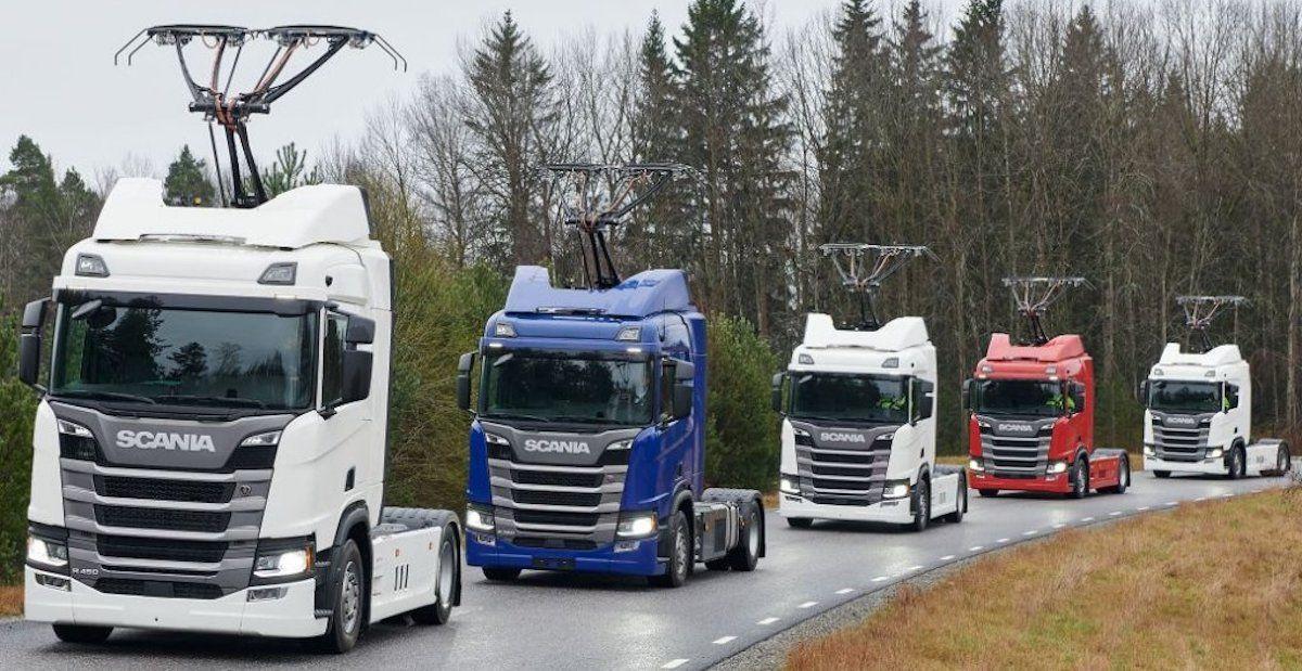 Scania ciężarówka elektryczna