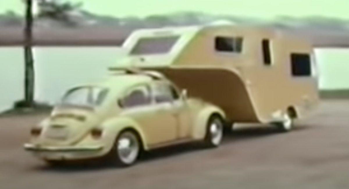 Volkswagen Garbus przyczepa kempingowa