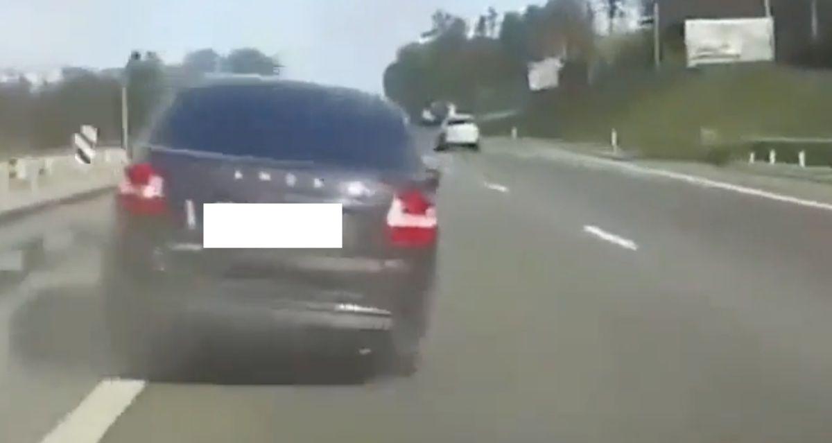 wypadek autostrada
