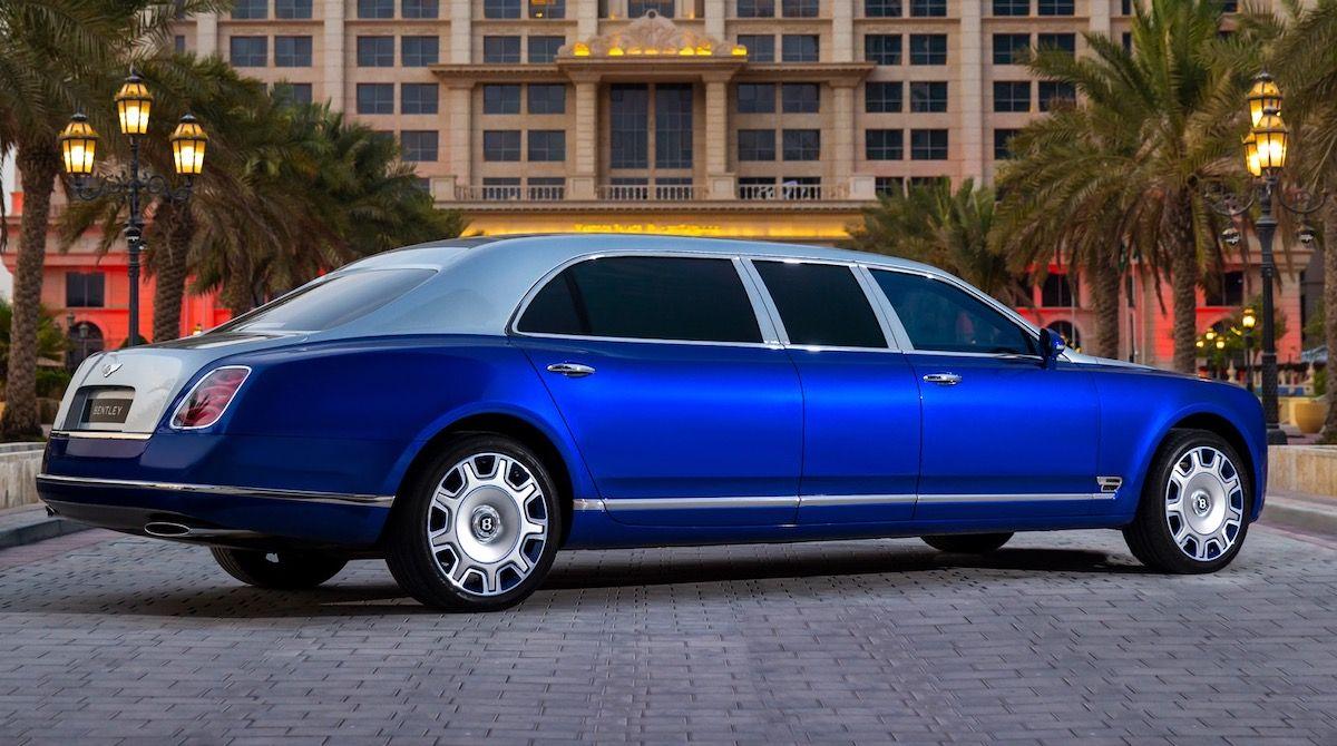 2015 Bentley Mulsanne Grand Limousine Mulliner