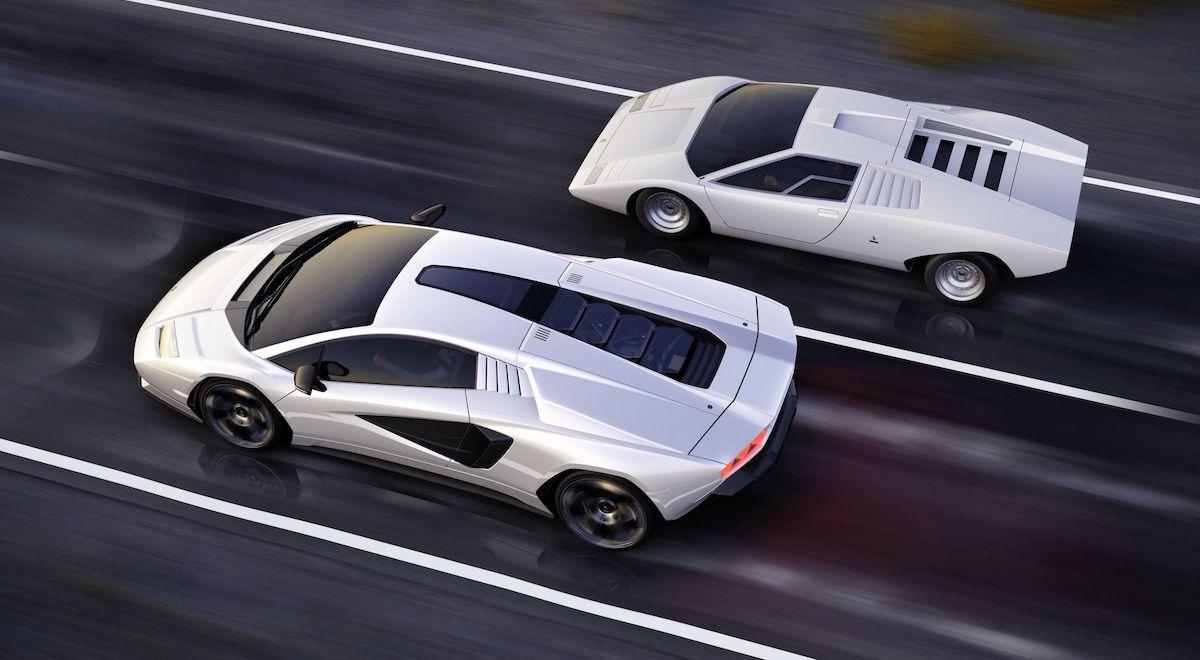 2022 Lamborghini Countach LPI 800 4
