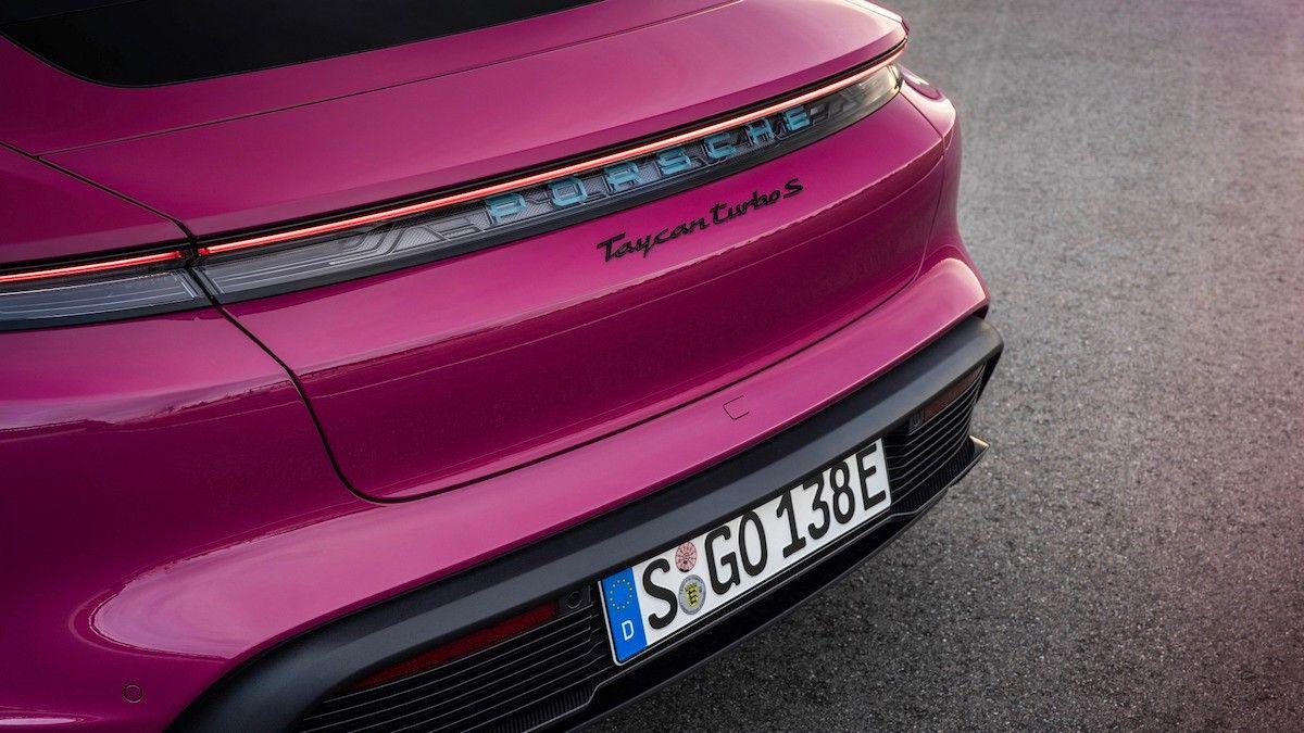 2022 Porsche Taycan Turbo S