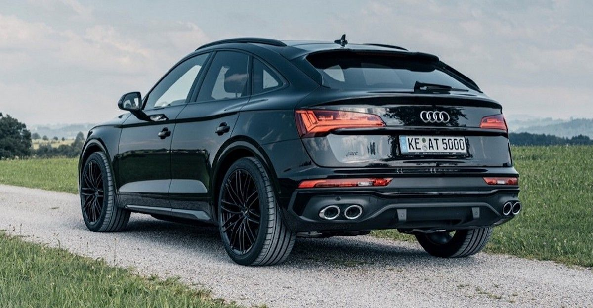Audi SQ5 Sportback ABT, tuning - tył