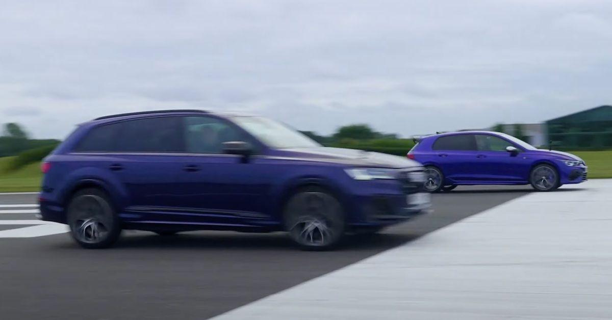 Audi SQ7 Volkswagen Golf R