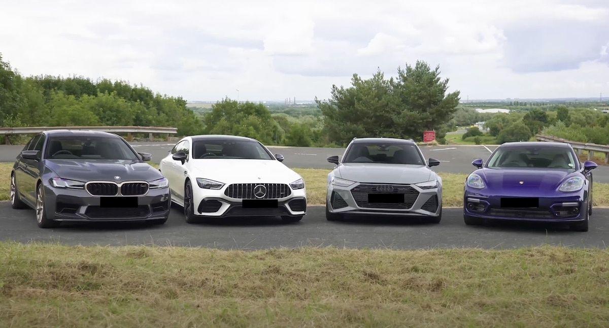 BMW Audi Mercedes Porsche