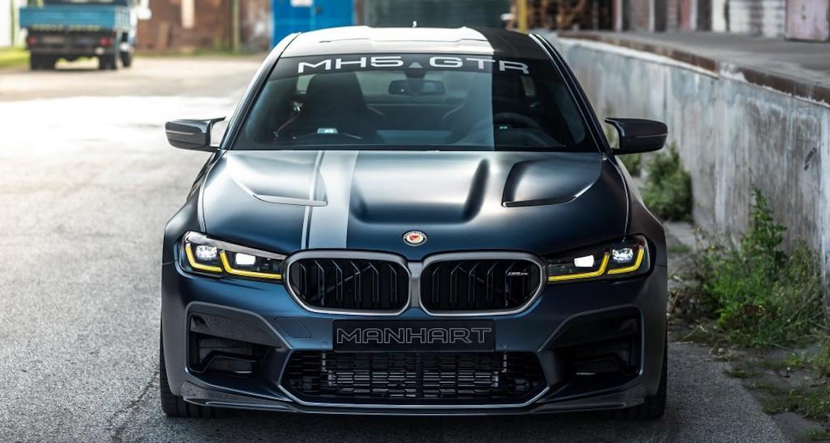 BMW M5 CS Manhart MH5 GTR