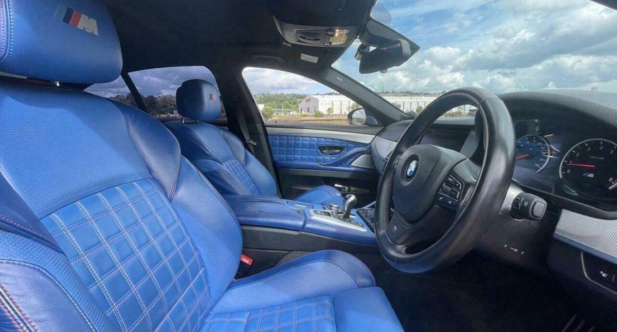 BMW M5 F10 Hamann Mission