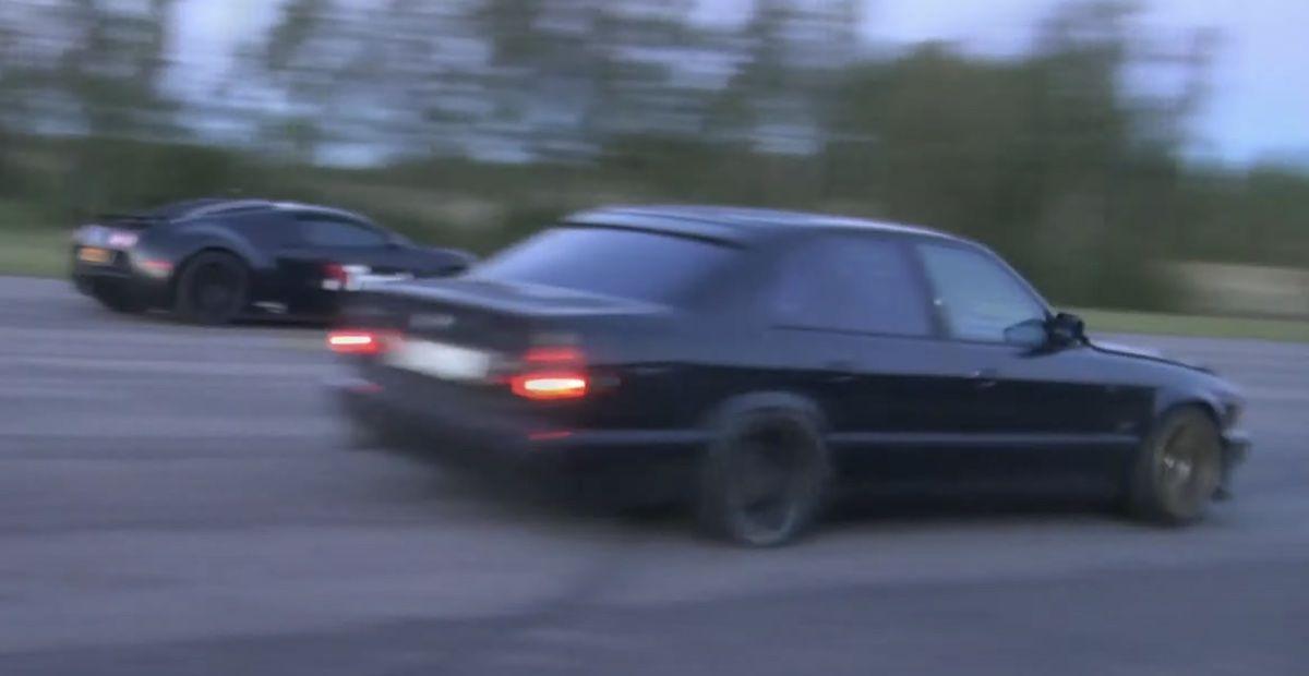 BMW M5 e34 Bugatti Veyron
