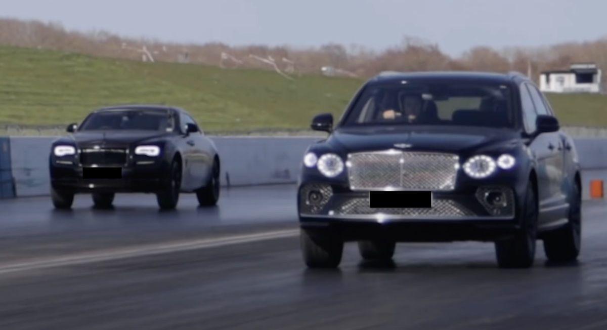 Bentley Bentayga Rolls-Royce Wraith